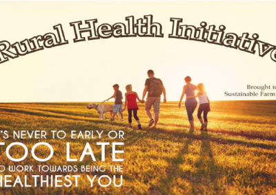 Rural Health Initiative- brought to you by the Raymond Irrigation District- June 17th, 2021